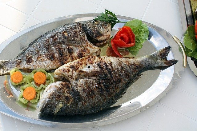 danie z rybami